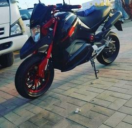 Elektro Skuter moto motosikl