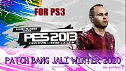 Sony Playstation 3-ga Pes 2013 o'yin (sostav 2019 va 2020) yozib olish
