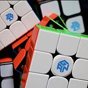 Профессиональный кубик 3х3 Gan 3x3 356 X Magnetic (numerical Ipg)
