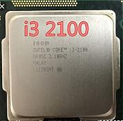 I3 2100 соккет 1155 с гарантием. 10шт. Цена за одного