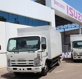 Фургон (будка) 5 тонна Isuzu NPR 82L CNG