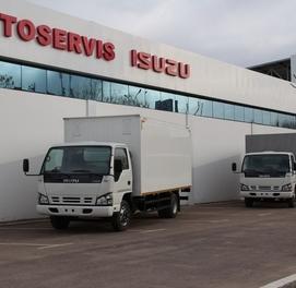 Фургон (будка) 5 тонна Исузу NQR 71PL