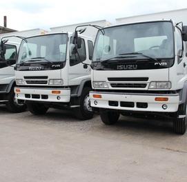 Фургон (будка) 8 тонн Isuzu FVR33P