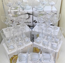 Гранёные стаканы фюжеры бакалы Российской фирма Pasabahce