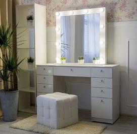 Гримерный столик/Трюмо/Макияжный столик/Туалетный столик