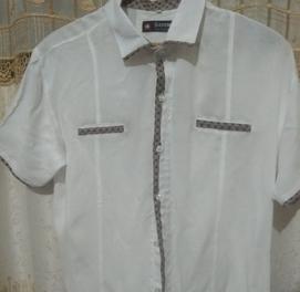 х/б рубашка молодежная размер м