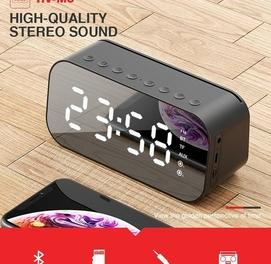 HAVIT MX701 Bluetooth Динамик Будильник Радио Доставка есть