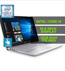 HP Pavilion corei5 quadcore 8th gen 12gb RAM 1tb hhd Touchscreen