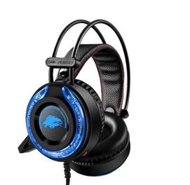 Игровой наушник A5 RGP подсветка, микрофон, удобный фиксирующий дизайн
