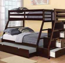 Икки этажли боллалар кровати