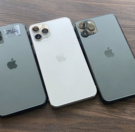 Iphone 11 Pro 256 GB Whinte Green Aksiya