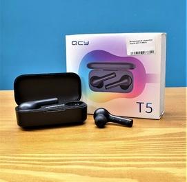 Качественный Беспроводные наушники QCY T5, Bluetooth, Доставка есть