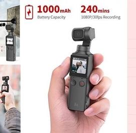 Карманная 4K камера Xiaomi FIMI Palm Gimbal Camera, Доставка есть