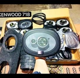 Kenwood 320W kalonka 718 yengi qora naklenkali bartr bor