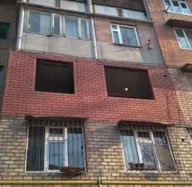 кладка балкон с материалом рама решётки козерыки