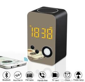 Колонка Musky DY-38 (Bluetooth, MP3, FM, AUX, Mic, часы, будильник)
