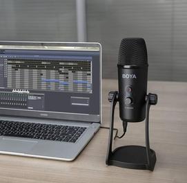 Конденсаторный USB-микрофон BOYA BY-PM700SP для iOS Androd Windows Mac