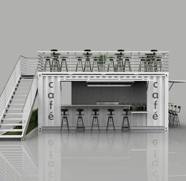 Konteyner domik Metallo konstruktsiya Sendvich panel