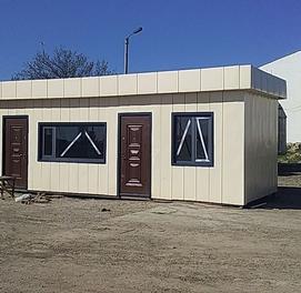 Konteyner domik Metallo konstruktsiya Sendvich panel Do'kon Ofis