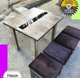 Кухонная мебель в необычном стиле