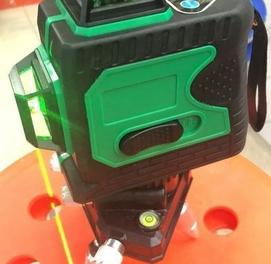 Лазерный уровень 3д 12 лучевой. Бесплатная доставка по городу
