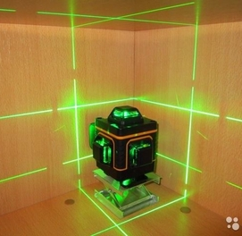Лазерный уровень 4d. Бесплатная доставка по республике Узбекистан