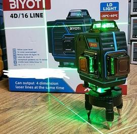 Лазерный уровень 4д. Бесплатная доставка всему Узбекистану