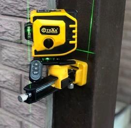 Лазерный уровень Texa 3d 12 лучевой. Бесплатная доставка