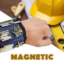 Магнитный браслет для инструментов сильный магнит