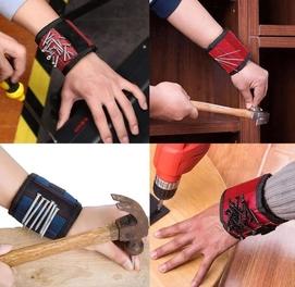 Магнитный строительный браслет для гвоздей, шурупов