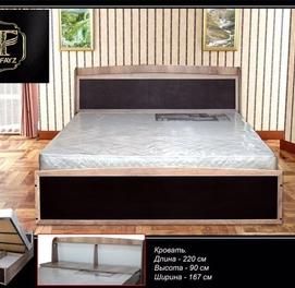 Мебели от компании Bilol Fayz Кровать двуспальная в Рассрочку,Кредит