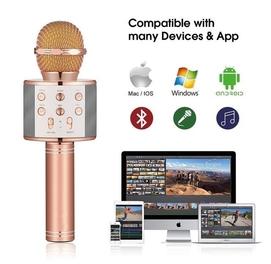 Микрофон караоке Bluetooth микрофон