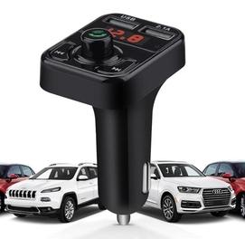 Мобильный FM модулятор bluetooth - флешка - зарядка для Авто