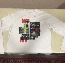 Мужская футболка с длинным рукавом. Новый, привез из Дубая. Размер S M
