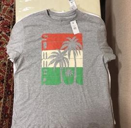 Мужские футболки из Дубая. Разные цвета и размеры ВЕЛИКАНЫ