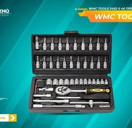Набор инструментов 46 предметов WMC TOOLS 2462-5