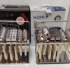 Набор ложки и вилки нержавеющей стали фирма MGFR 12 person