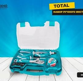 Набор ручного инструмента 25 предметов TOTAL THKTHP90256