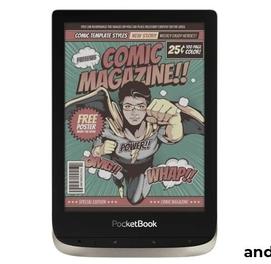 Новая электронная книга PocketBook 633 Color. Гарантия — 2 года
