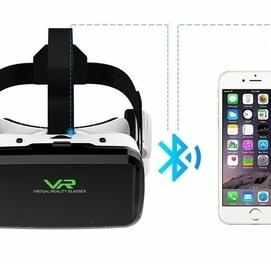 Очки виртуальной реальности VR SHINECON G04BS с Bluetooth гарнитурой