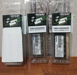 Patriot DDR4 16gb sodimm