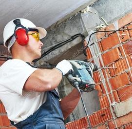 Перфараторные работы. Слом демонтаж бетона кирпича.