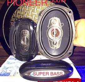 Pioneer 500W kalonka yengi kotta magnitli +bartr bor cheti rezinkali
