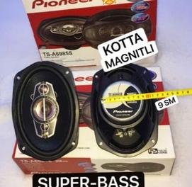 Pioneer 500watl kalonka Super BASS kotta magnitl