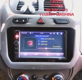 Pioneer aqli sensrli avto manitor 14 ekvalazrli blutus usb clip kino+