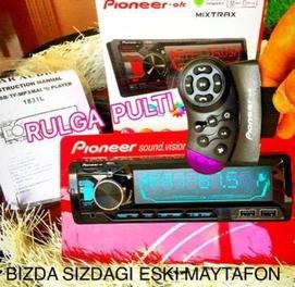 Pioneer rul pulitli mafon blutus bor ekrani super yangi avlod madel