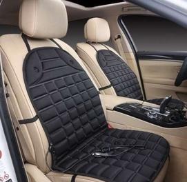 Подогрев сидения, накидка с обогревом сидение для любой авто