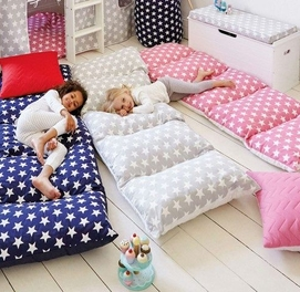 Подушка матрац из 4 подушек