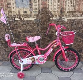 Принцесса велосипед 16 размер бор каплект сумичка геливий балон
