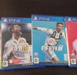 Продам диск FIFA 2016/18/19/20 для ПС 4.За все диски 50 50у.е.
